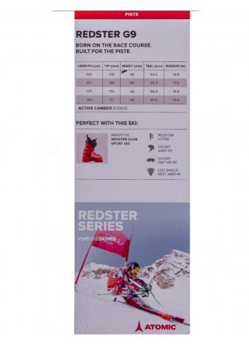 Narty Atomic Redster G9 + Atomic X 14 TL