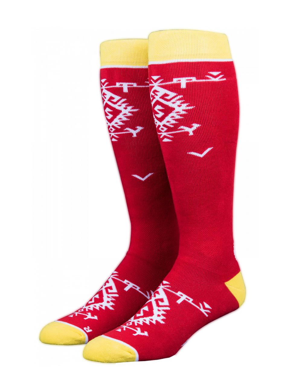 Skarpety Stinky Socks Red Kitka
