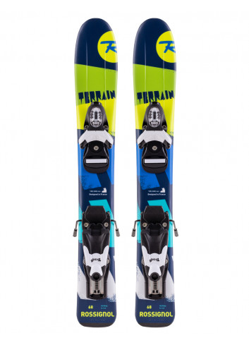 Narty Rossignol Terrain Boy + Look Team 4