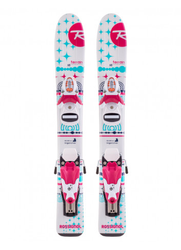 Narty Rossignol Terrain Girl + Look Team 4
