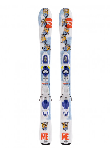 Narty Rossignol Minions + Look Kid-X 4