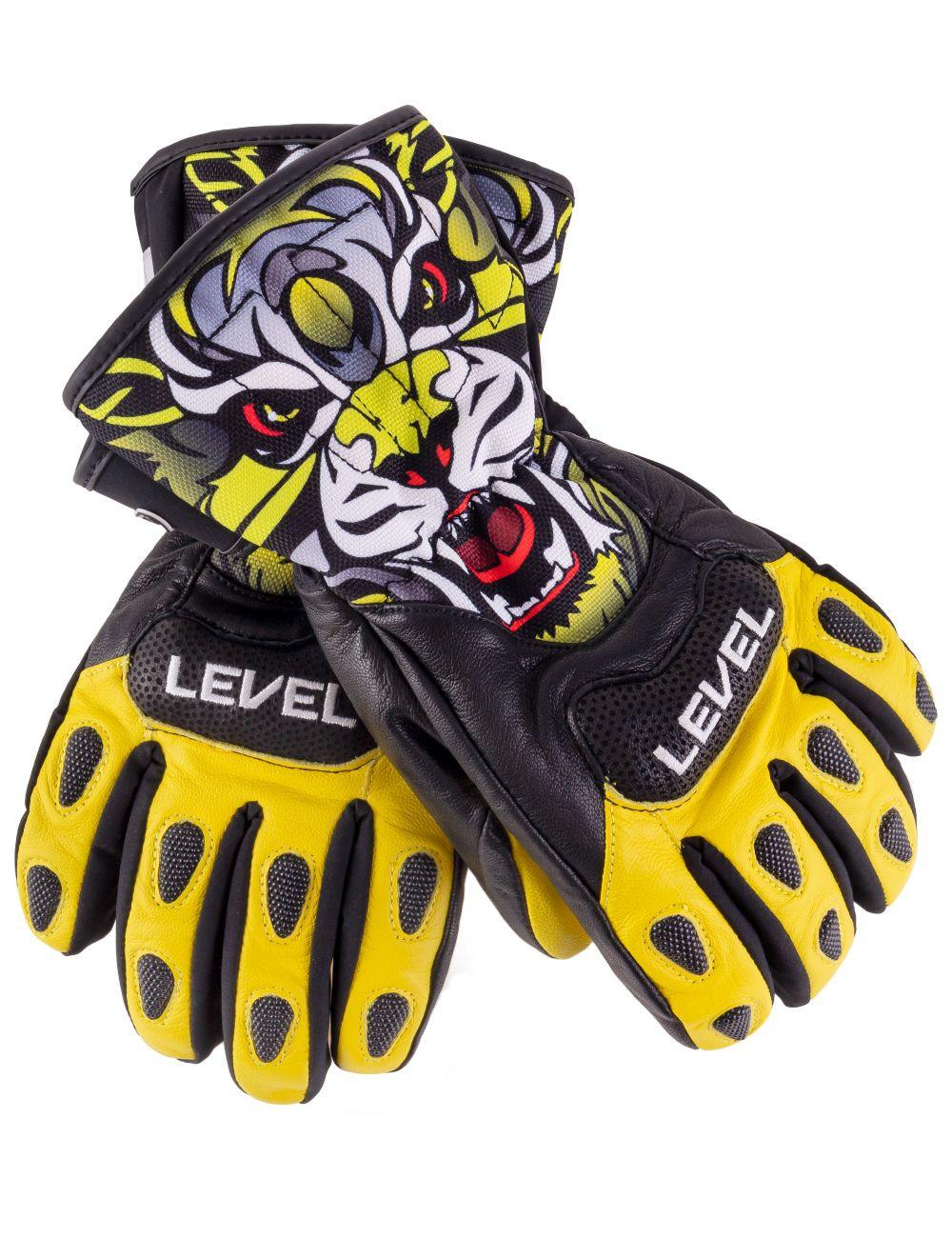 Rękawice narciarskie LEVEL SQ JR CF