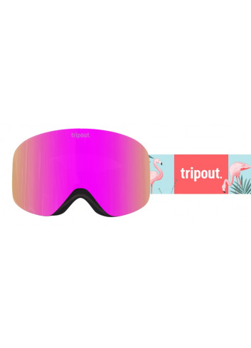 Gogle Tripout Racer Flamingo Pinky