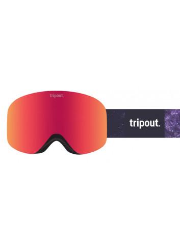Gogle Tripout Racer Galaxy Orange Fire