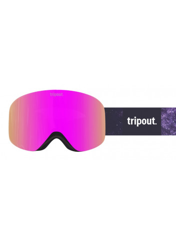 Gogle Tripout Racer Galaxy Pink