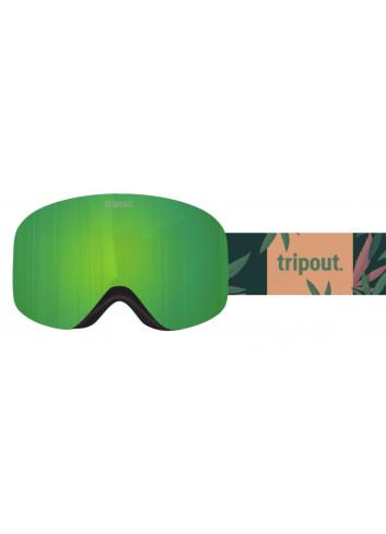 Gogle Tripout Racer Smoke Camo Green