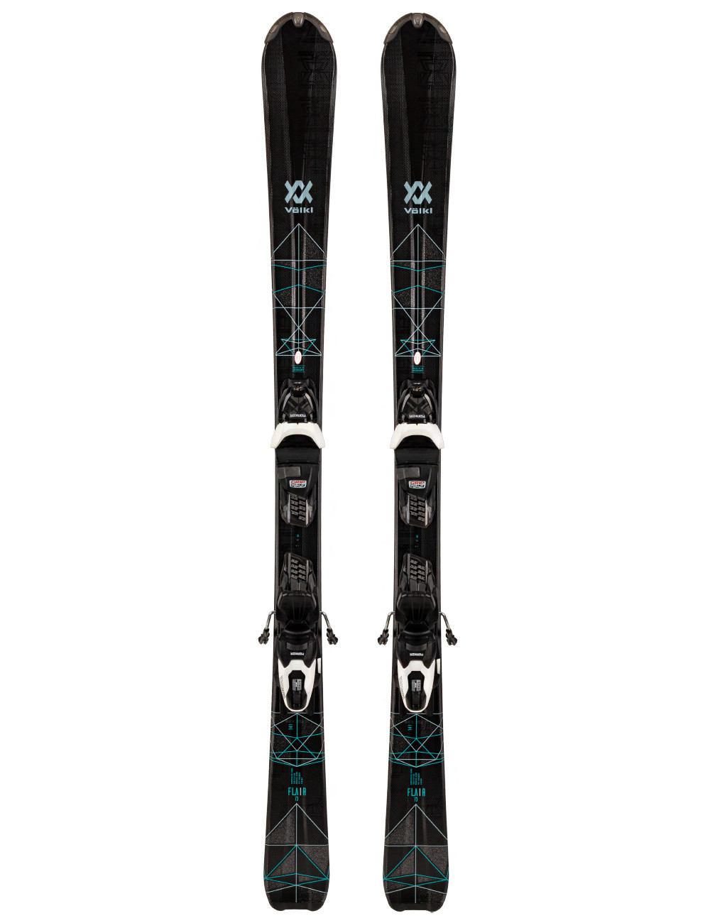 Narty Volkl Flair 73 + Marker Compact Lady 9 z GRIP WALK