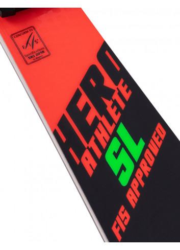 Narty Rossignol HERO ATHLETE FIS SL + LOOK SPX 15 RockeRace
