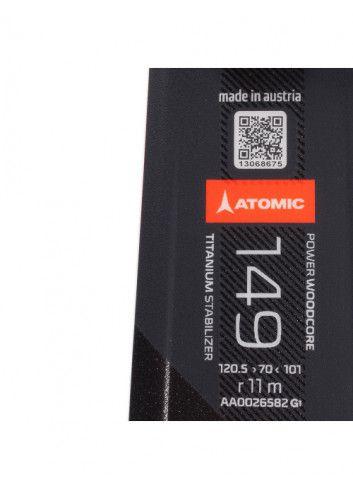 Narty Atomic Redster X5 + Atomic Mercury 11