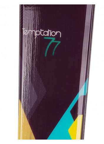 Narty damskie Rossignol TEMPTATION 77 + LOOK XPRESS W 10