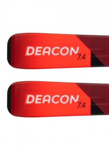 Narty zjazdowe Volkl DEACON 7.4 + Marker FDT 10.0 z GRIP WALK