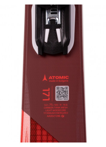 Narty męskie Atomic VANTAGE X77 CT + Atomic LITHIUM 10