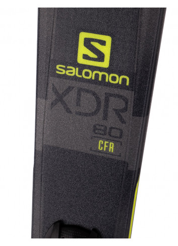 Narty allmountain Salomon XDR 80 CF + Salomon MERCURY 11