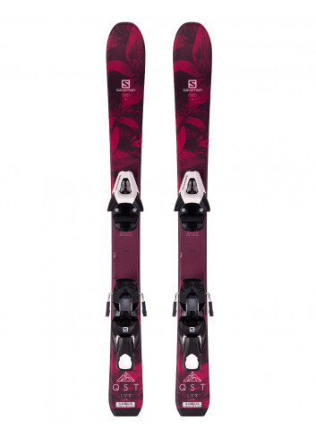 Narty juniorskie Salomon QST LUX Jr + Salomon C5