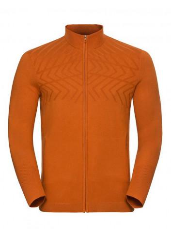 Męska bluza termoaktywna z zamkiem ODLO UNITY KINSHIP WARM
