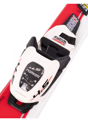 Narty juniorskie Volkl RACETIGER GS JR + Marker 4.5 FDT z GRIP WALK