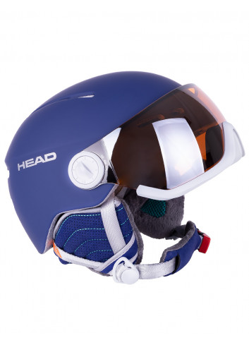 Kask snowboardowy z szybą Head Queen