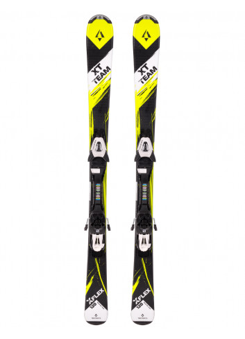 Narty juniorskie TECNOPRO XT TEAM + Salomon E C5