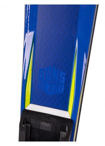 Narty POWYSTAWOWE Salomon S/RACE GS RUSH + SALOMON X12 TL