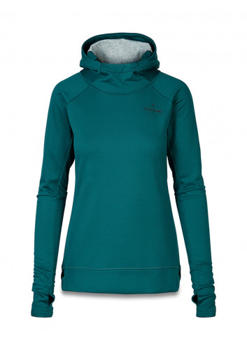 Damska bluza termoaktywna z kapturem DAKINE CALLAHAN DEEP TEAL