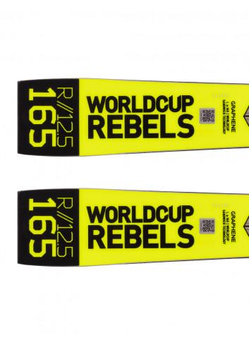 Narty komórkowe  slalomowe Head WorldCup Rebels I.SL RD + Head FreeFlex EVO 14