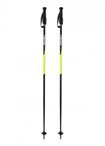 Kije narciarskie Head PRO neon yellow