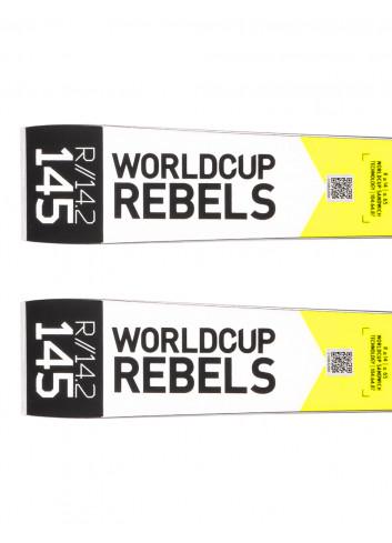 Narty juniorskie gigantowe Head WORLDCUP REBELS I.GS RD TEAM + Tyrolia SX 7.5 z GRIP WALK