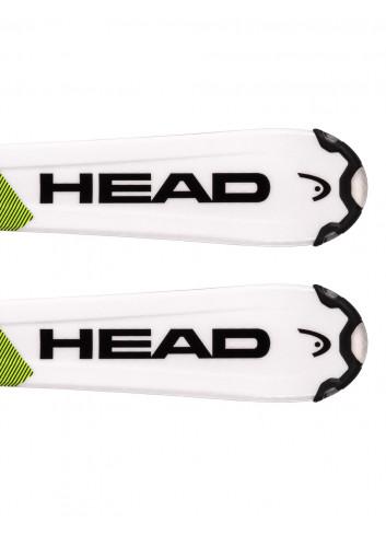 Narty dziecięce Head SUPERSHAPE TEAM SLR + Head SLR 4.5 z GRIP WALK