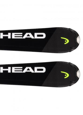 Narty dziecięce Head V-SHAPE TEAM SLR + Head SLR 7.5 z GRIP WALK