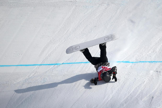 snowboard accident