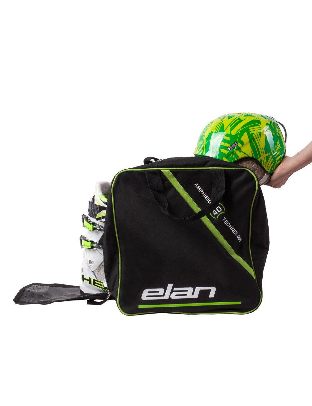 Plecak na buty i kask narciarski Elan SKI Boots AND Helmet